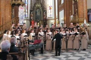 """""""Magnificat"""" Johna Ruttera w kościele w Garbowie"""