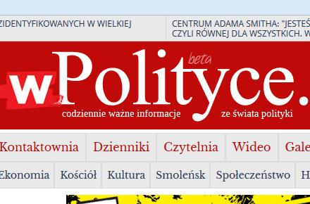 wpolityce.pl – codziennie ważne informacje ze świata polityki