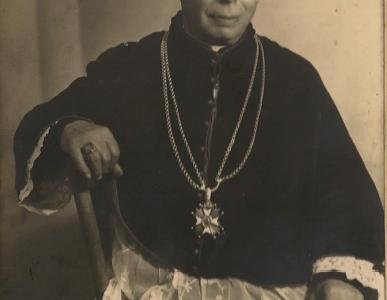 Ks. Piotr Stokrocki – pierwszy proboszcz parafii