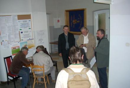 Mieszkańcy Abramowa i Michowa na sesji Rady Powiatu w Lubartowie