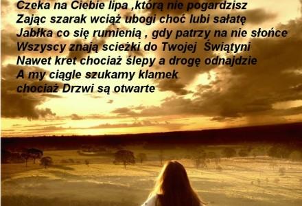 Przed Tobą chyli głowę… – wiersz Ryszarda Kozaka