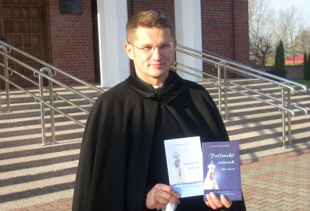 Ks. Paweł  Maciąg- kolejna wizyta ks. poety w naszej parafii