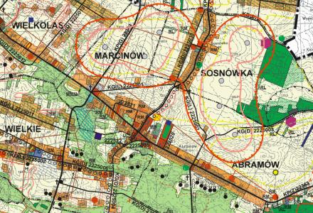 Jest projekt zmiany studium uwarunkowań i kierunków zagospodarowania przestrzennego gminy Abramów