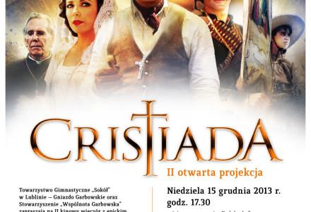 Zapraszamy na projekcję filmu 'Cristiada'