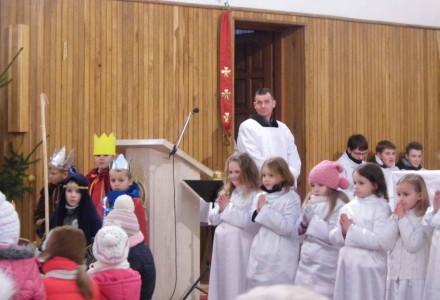 Niedziela 19 stycznia: jasełka dzieci z Abramowa i chór z Kamionki