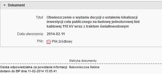 BIP kV elekr.