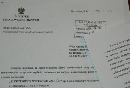 Obcy kapitał chce nabyć ziemię w gminie Michów