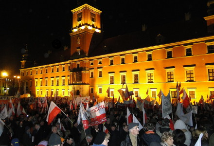 IV rocznica katastrofy smoleńskiej – relacja uczestnika Ryszarda Kozaka.
