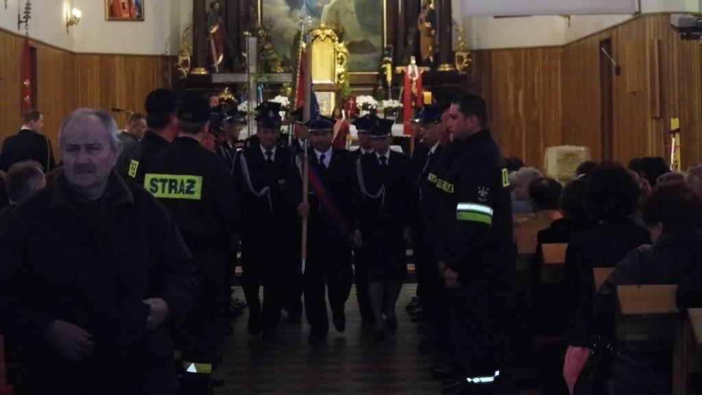11.05.2014 Abramów – Msza Święta w intencji strażaków.