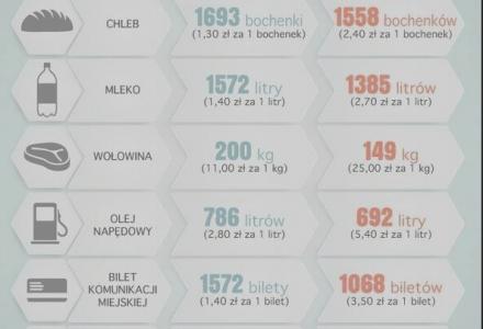 10 lat w UNII EUROPEJSKIEJ -Ile kupisz teraz, ile 10 lat temu…i krótki wyrywkowy bilans.