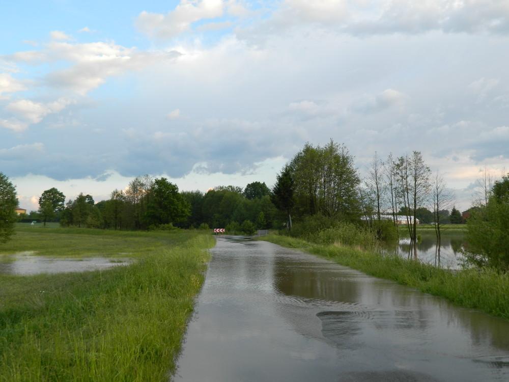 ulewa w gminie Michów 016