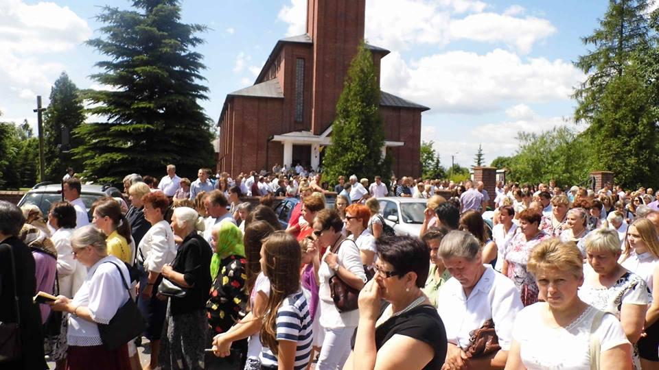 Abramów 19 czerwca – Uroczystość Bożego Ciała