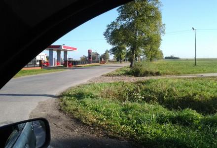 Skrzyżowanie w Marcinowie – kto ma władzę wyciąć drzewa?