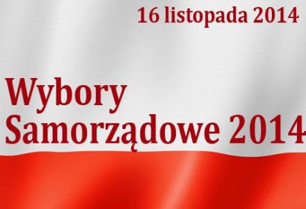 Wybory 2014 – 2 kandydatów na Wójta Gminy. Do Rady Powiatu – startuje 9 osób.