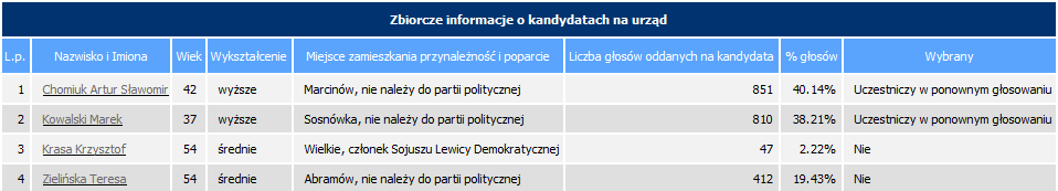 wybory 2010