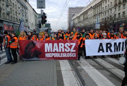 11 Listopada 2014 –  Obchody Dnia Niepodległości w Warszawie.  Zdjęcia i tekst Leszek Kozak