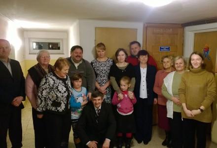 Koło Przyjaciół Radia Maryja – Spotkanie opłatkowe na plebanii