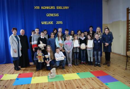 XIII Konkurs Biblijny Genesis – Wielkie 2015