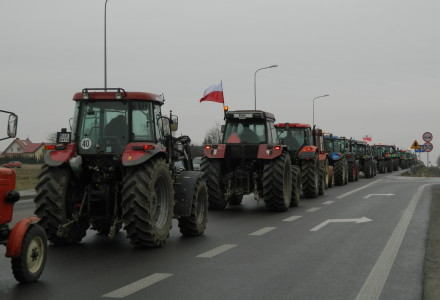 Solidarnościowy protest rolniczy w Bogucinie – relacja