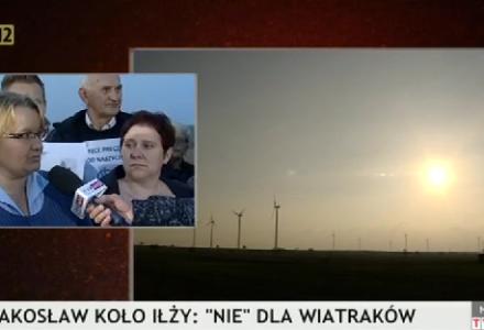 Iłża – wiatraki – był program w TVP o proteście, można zobaczyć.