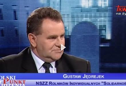 Gustaw Jędrejek wiceprezes Lubelskiej Izby Rolniczej w TV Trwam o rolnictwie
