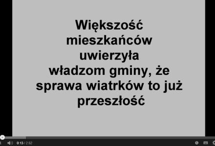 Fajsławice24 – Film ukazujący manipulacje władz gminy Fajsławice w sprawie budowy farmy wiatrowej