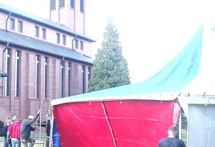Niedziela 17 maja w Abramowie – weźmy flagi na uroczystość odsłonięcia pomnika
