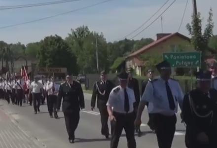 Pielgrzymka strażaków 2015 – Wąwolnica