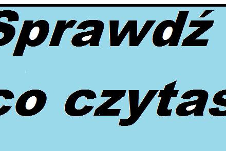 Sprawdź ile czytasz (po polsku) niemieckich gazet !!!