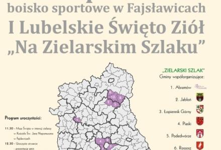 15.08.2015 – Fotorelacja z I Lubelskiego Święta Ziół w Fajsławicach