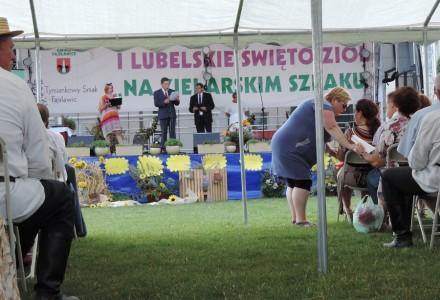"""21.08.2016 – Abramów – II LUBELSKIE ŚWIĘTO ZIÓŁ """"NA ZIELARSKIM SZLAKU"""""""