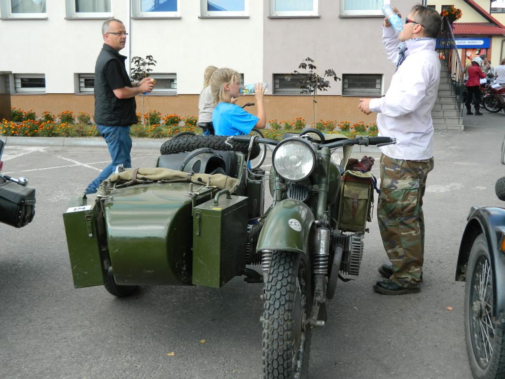 Stare motocykle w Michowie