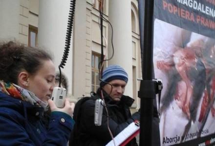 Grożą procesem, bo prawda jest niewygodna – pikieta w Lublinie
