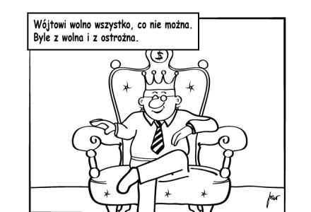 """""""Wójt Lepka-Łapka odpowiada""""  – akcja rysunkowa redakcji STOP wiatrakom"""