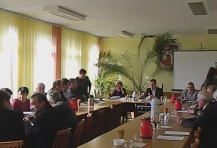 Sesja rady Gminy Michów 15.10.2015