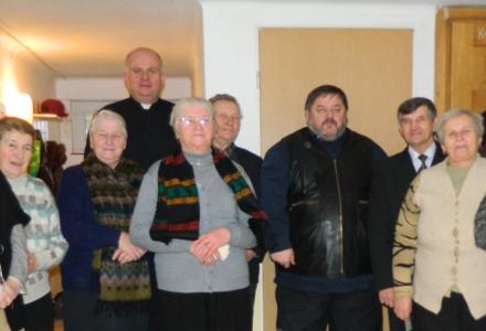 Niedziela 17 stycznia – Opłatek na plebanii