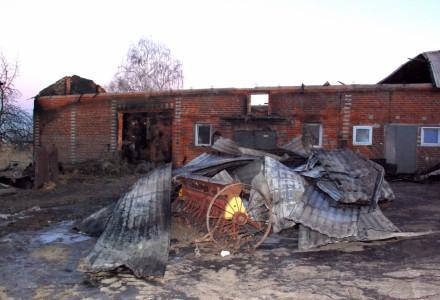 Potrzebna pilna pomoc dla rodziny z Bogucina dotkniętej pożarem