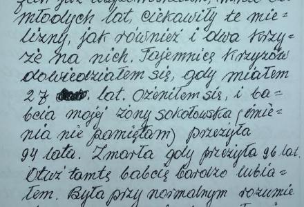 Z naszej historii:  Józef Struski – pamiętniki