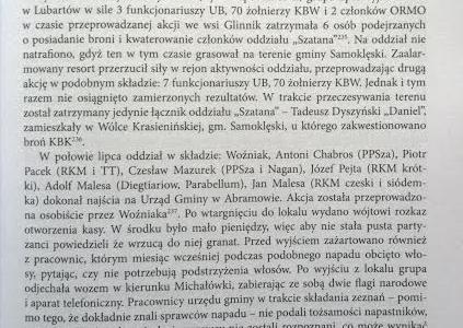 """Fragment nowej książki Leszka Kozaka o """"Szatanie"""" – Napad na Urząd Gminy w Abramowie i Rudnie"""
