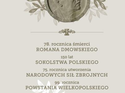 Zaproszenie na uroczystość patriotyczną