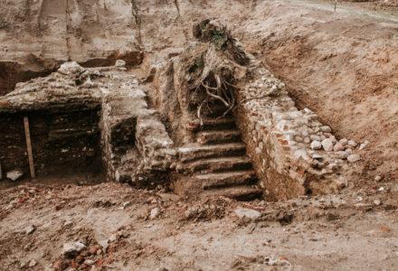 Wykopaliska w Wielkiem widziane z drona, oraz nowe zdjęcia