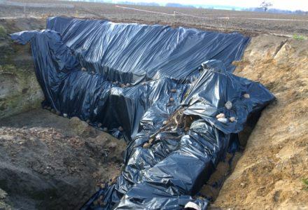Informacja stowarzyszenia SISGA na temat wykopalisk w Wielkiem