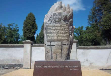 11.07.2018. LUBLIN – UROCZYSTOŚĆ ODSŁONIĘCIA POMNIKA  Ofiar Wołynia – Pamiętajmy!
