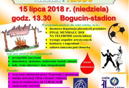 W Bogucinie 15 lipca – Festiwal Wieprzowiny, Mleka i Miodu…