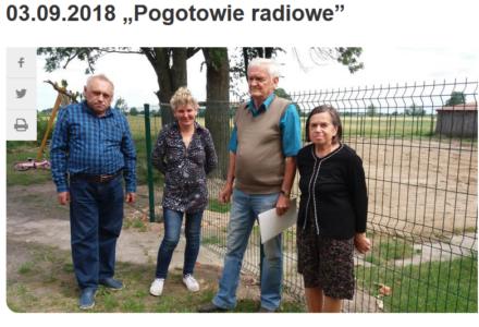 """""""Pogotowie Radiowe"""" Radia Lublin w Glinniku"""