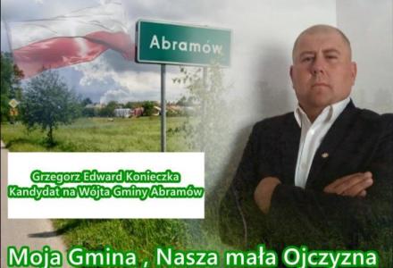 Grzegorz Konieczka – Kandydat na Wójta Gminy Abramów