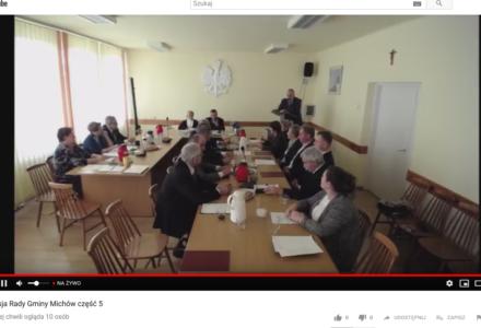 Roman Adamczyk Przewodniczącym Rady Gminy w Michowie