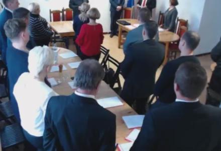 Abramów, radni dokonali wyboru – Beata Łysiak Przewodniczącą Rady Gminy.