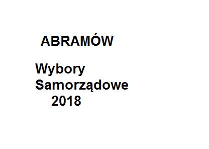 Wyniki PKW – II Tura Abramów: Kowalski 57,29%  Chomiuk 42,71% . W Michowie po raz kolejny wygrywa Jankowski