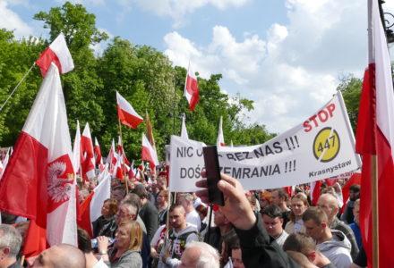 11.05.2019. Warszawa – Nie dla żydowskich roszczeń! – fotorelacja uczestnika